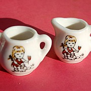 Made In Japan China Doll Cream & Sugar