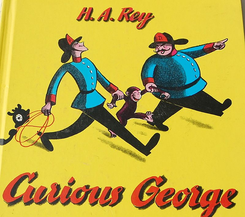 1969 Curious George by H. A. Rey