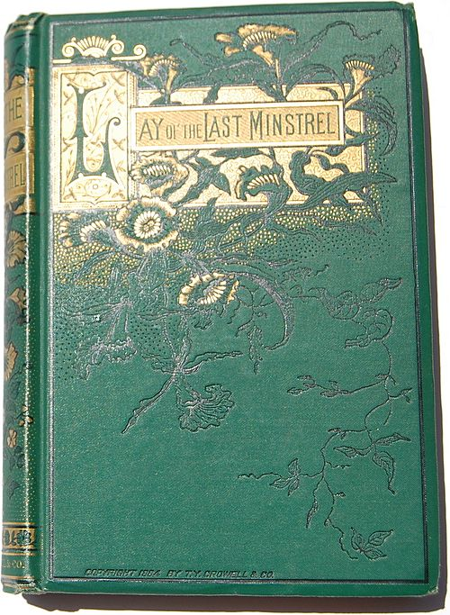 1884 Lay Of The Last Minstrel By Sir Walter Scott