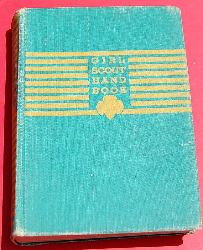 1940 First Impression Girl Scout Handbook-For the Intermediate Program