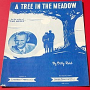 Billy Reid A Tree In The Meadow Sheet Music
