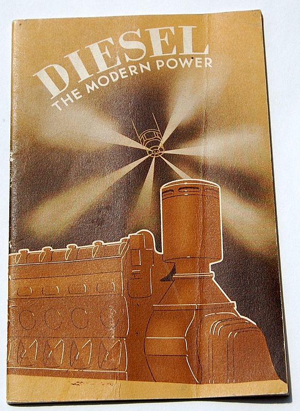 1936 Diesel The Modern Power