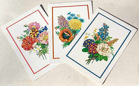 Vintage 1988 Reader's Digest Set Of 12 Greeting Cards