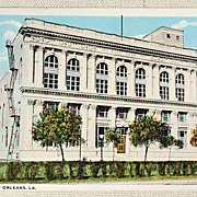 Vintage Postcard Elks Home New Orleans Louisiana