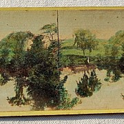 1866 Stereophotography Stereoview Hills & Dales Of New England #569