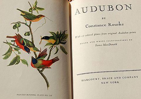 1936 Audubon by Constance Rourke