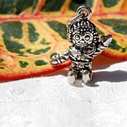 Vintage Sterling Silver Raggedy Andy Charm