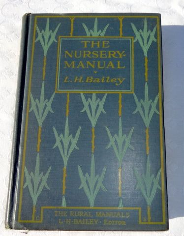 1927 The Nursery Manual By L. H. Bailey