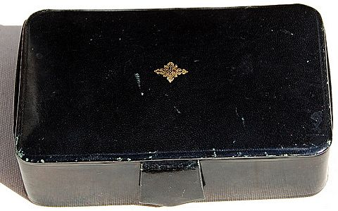Vintage Polished Lambskin Jewelry/Trinket Box