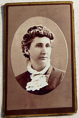 Victorian Antique Cabinet Photo Lady Farmington N. H.