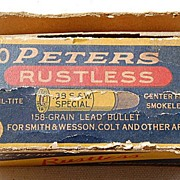 Peters Rustless Smith & Wesson 38 Special Shell Box