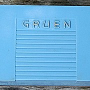 Vintage Gruen Precision Watch Presentation  Box