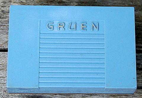 Vintage Gruen Precision Watch Presentation  Box