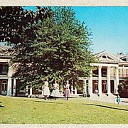 Vintage Post Card William Mercer Green Hall All Saints' Episcopal Junior College