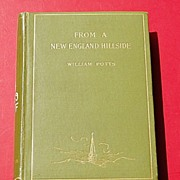 1895 From A New England Hillside By William Potts