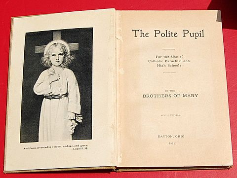 1911 The Polite Pupil For The Use Of Catholic Parochial & High Schools