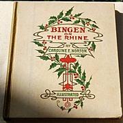 1883 Bingen On The Rhine By Caroline E. Norton