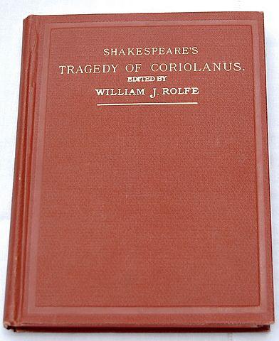 1909 Shakespeare's Tragedy Of Coriolanus