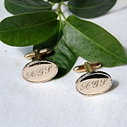 Vintage 14K Gold Filled Cuff Links