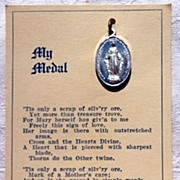 My Medal Vintage Miraculous Medal On Original Card