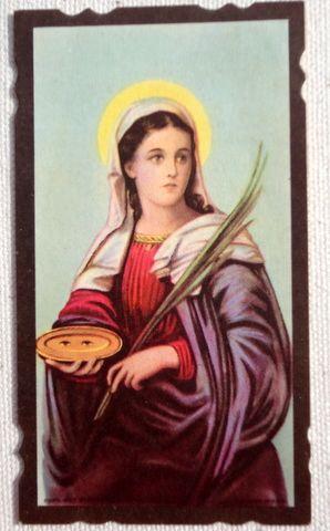 1951 Vintage Prayer Card Rev. John S. Kubacki