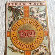 Antique Victorian Trade Card Perry Mason & Co.
