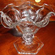 Vintage Heisey Footed Sherbert Dish