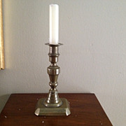 Vintage  English Brass Candlestick