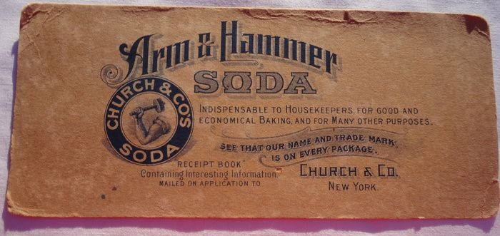Victorian Arm & Hammer Soda Advertising Blotter