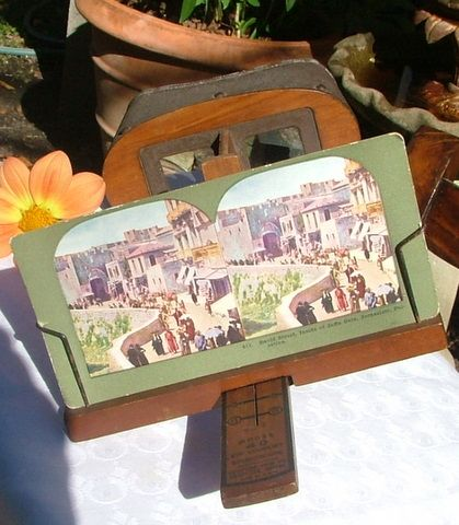 Antique Keystone View Co. Eye Comfort Stereoscope Model 40