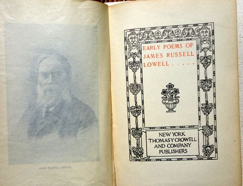 james russell lowell poems