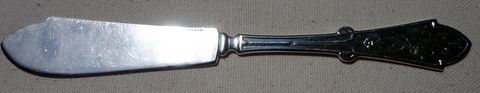 Victorian Reed & Barton Silverplate Gem Master Butter Knife