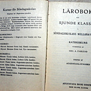 1925 Swedish  Lutheran Prayer Book