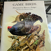 1983 Game Birds By Charles Coles Illustrated By Maurice Pleger