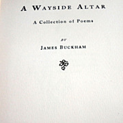 1905 A Wayside Altar By James Buckham