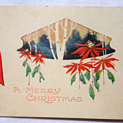 Art Deco Gibson Christmas Card