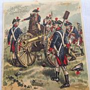 Victorian J. & P. Coats' Spool Cotton Trade Card