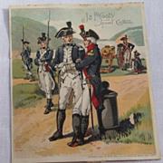 Victorian J & P Coats' Spool Cotton Trade Card