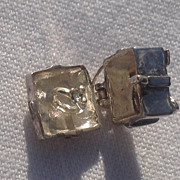 Vintage Sterling Silver Engagement Ring In Box Charm