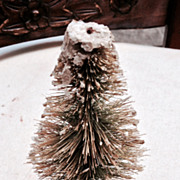 "Vintage Bottle Brush 6"" Christmas Tree"