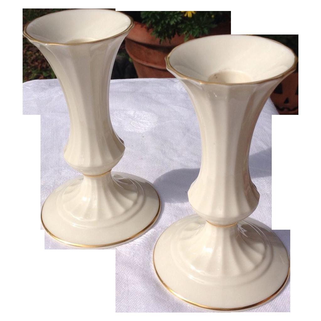 Vintage pair lenox candle holders from bestkeptsecrets on