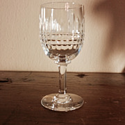 Vintage Baccarat Cordial Glass