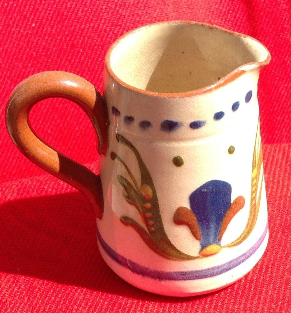 Vintage English Torquay Motto Ware Creamer
