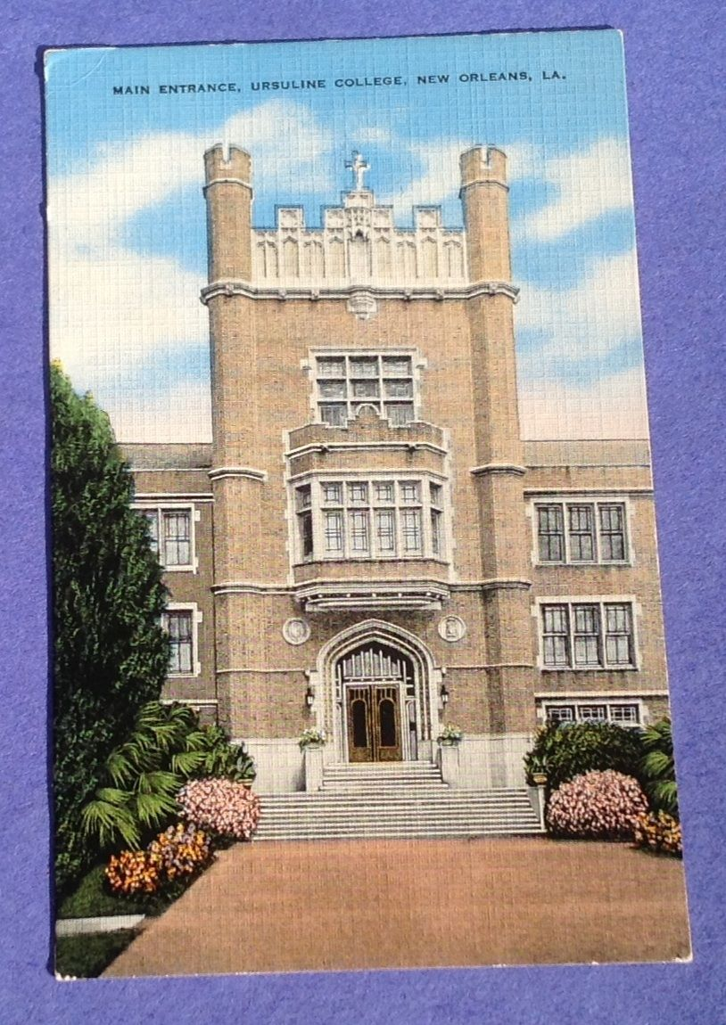 Vintage Ursuline College New Orleans Post Card