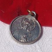 Tiny Aluminum Scapular Medal