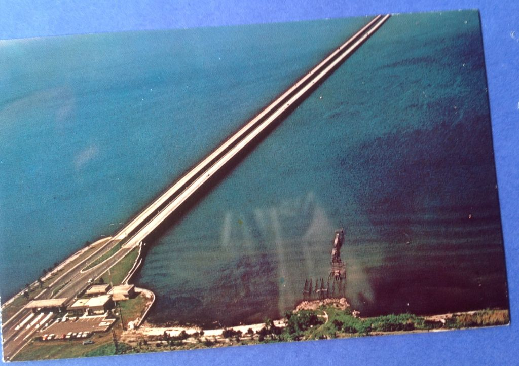 Vintage Lake Ponchartrain Causeway New Orleans Louisiana Post Card