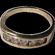 Vintage Gold Filled Paste Baby Ring