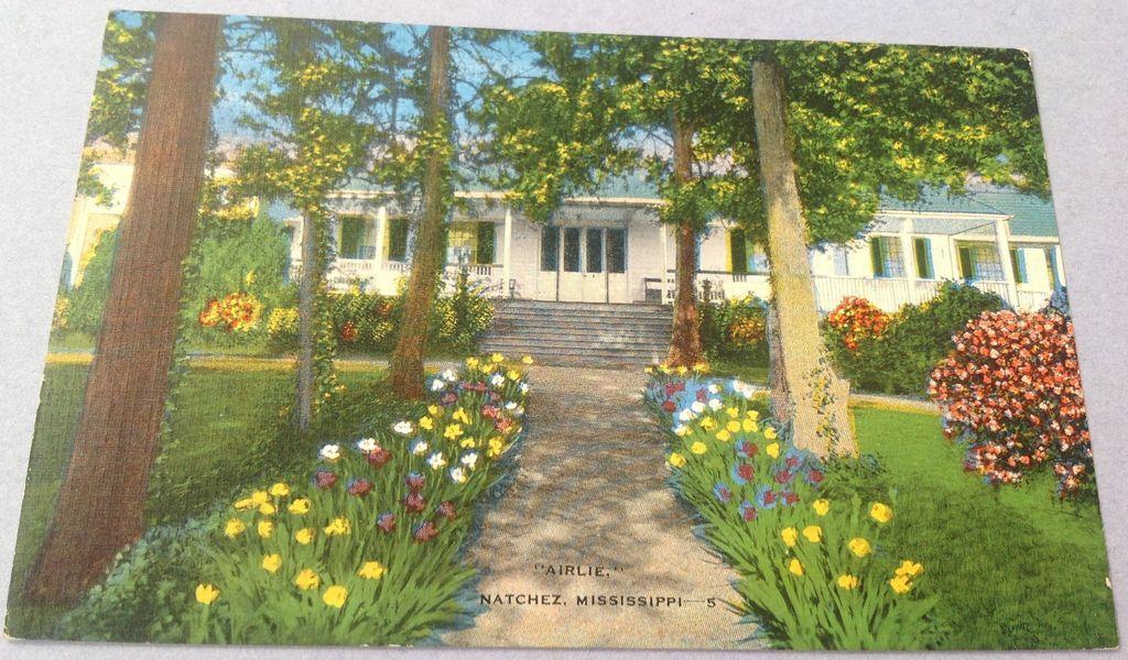 Vintage Airlie House Natchez Mississippi