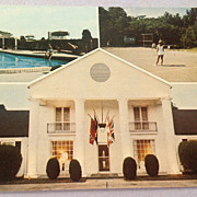 Vintage Bellemont Motor Hotel And Restaurant Natchez Mississippi Post Card