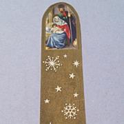 Vintage Chromolithograph Religious Scrap Bookmark